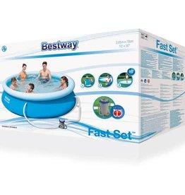 Bestway Fast Set Pool Zwembad 305 x 76 cm