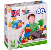 Mega Bloks Mega Bloks - First Builders - 40 Pieces
