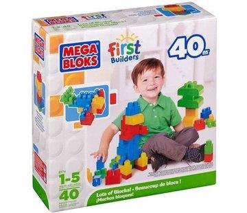 Mega Bloks Mega Bloks - First Builders - 40 Stuks
