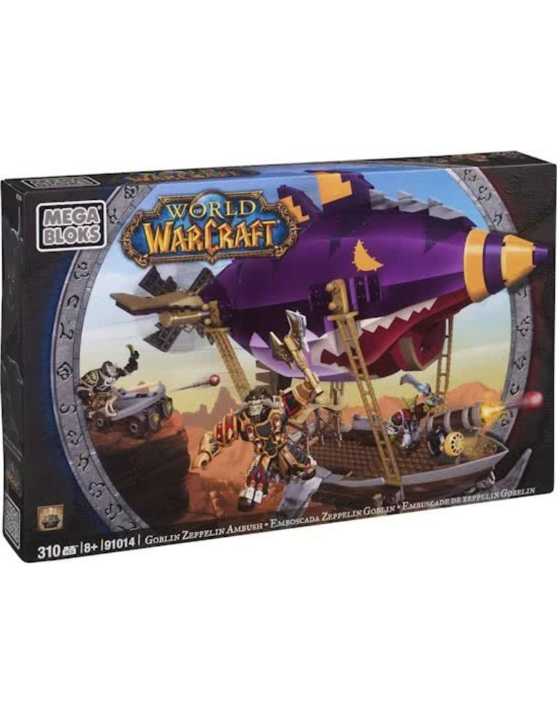 Mega Bloks Mega Bloks - World of Warcraft Goblin Zeppelin Ambush - 310 onderdelen