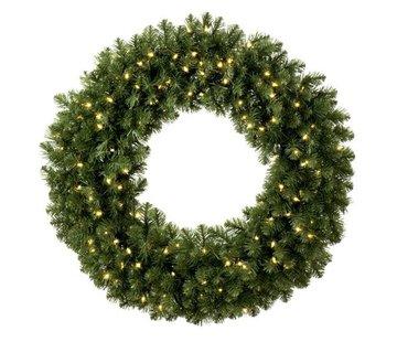 Royal Christmas Kerstkrans Dakota 60 cm met Warm White LED