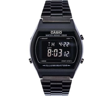 Casio Collection B640Wb-1Bef - Zwart Staal - Ø 35 Mm