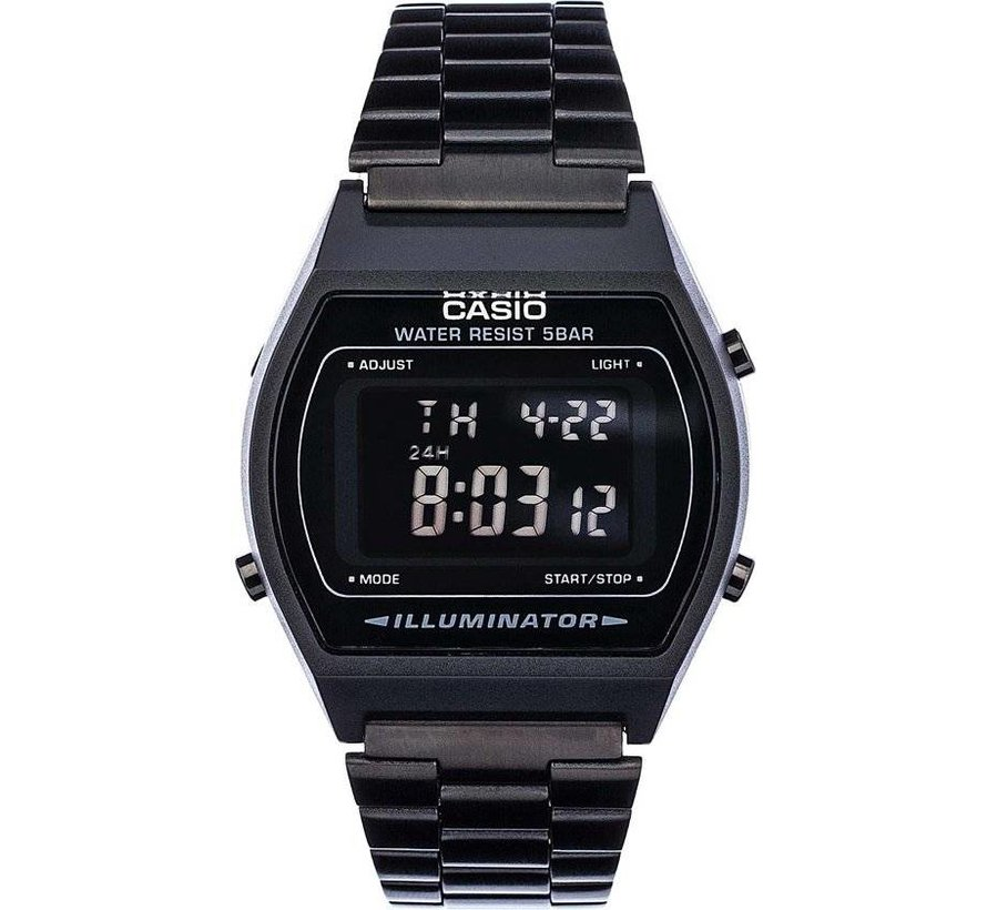 Casio Collection B640Wb-1Bef - Black Steel - Ø 35 mm