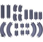 Chuggington Die-Cast Erweiterungspack Gerade Schienen und Kurven