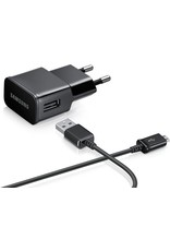 Samsung USB Oplader - Zwart - MicroUSB