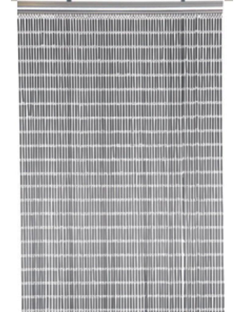 PVC Deurgordijn / Vliegengordijn Grijs 100x230 cm
