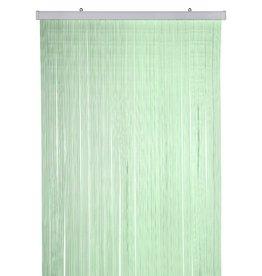 PVC Deurgordijn / Vliegengordijn Transparant groen 100x220cm