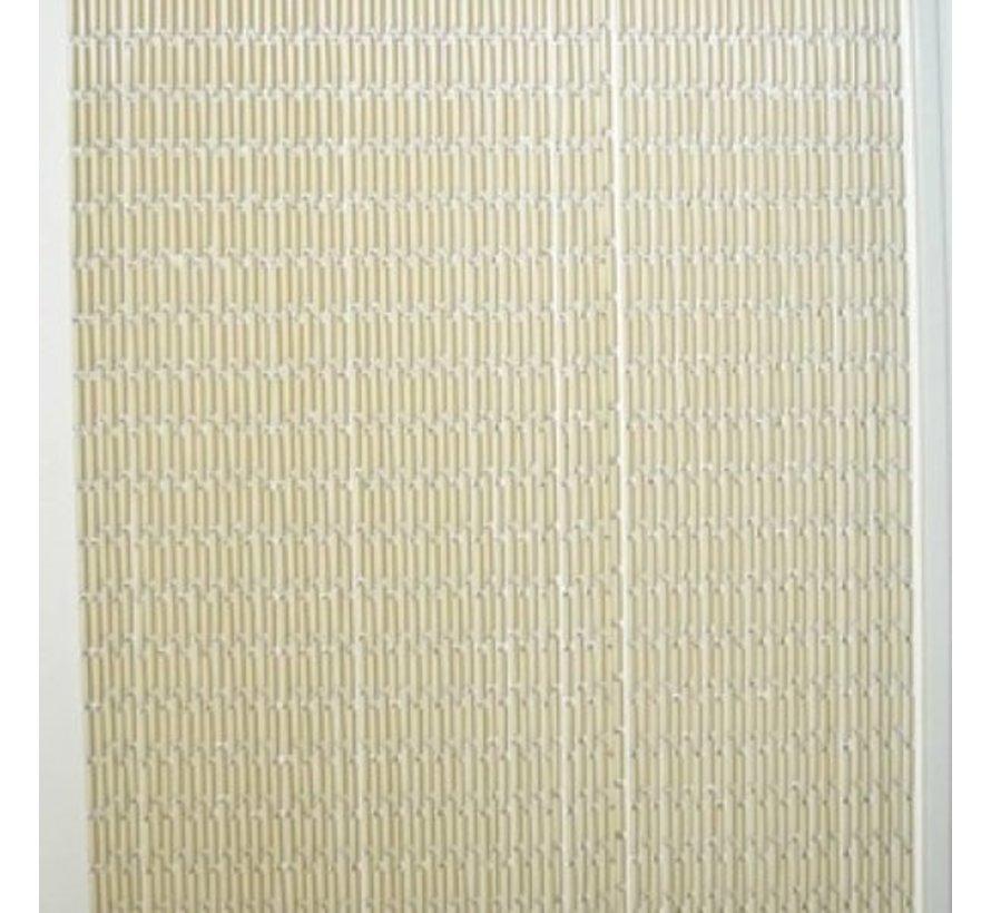 Lesli PVC Fly Curtain / Doorcurtain Beige 100 x 220 cm