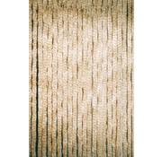 Lesli Vliegengordijn Kattenstaart - Beige/Wit - 220 x 90 cm