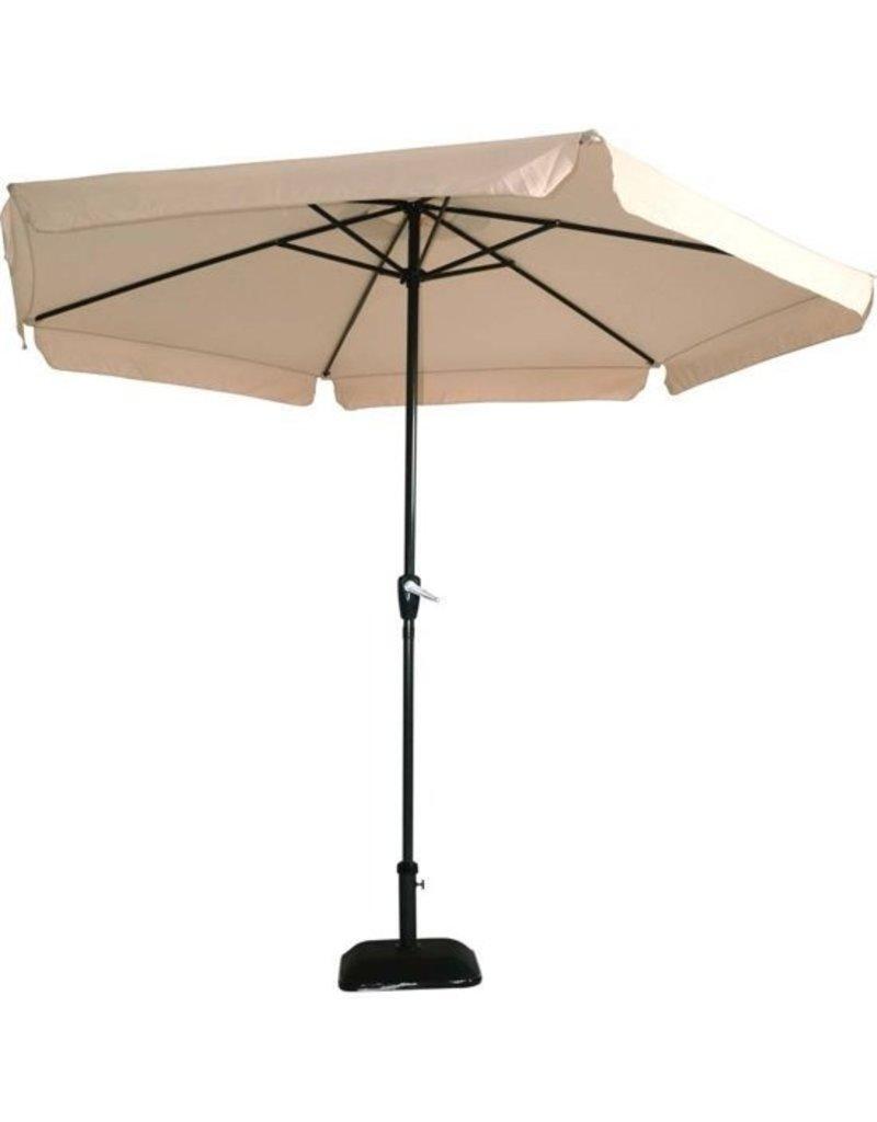 Outdoor Living Gemini Parasol - stokparasol - Ø300 cm - ecru