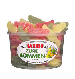 Haribo 150 stuks HARIBO Zure Bommen