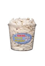 Haribo 150 stuks HARIBO Witte muizen - Voorraademmer voor thuis, kantoor of onderweg