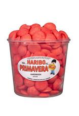 Haribo 150 stuks HARIBO Schuim Aardbeien - Voorraademmer voor thuis, kantoor of onderweg