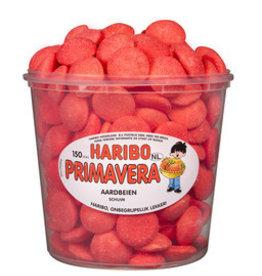 Haribo 150 stuks HARIBO Schuim Aardbeien