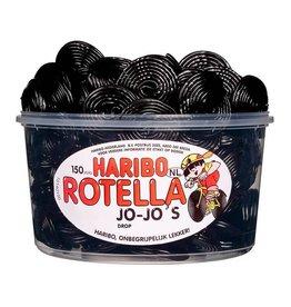 Haribo 150 stuks HARIBO Rotella Dropjojo