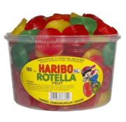 Haribo 150 stuks HARIBO Rotella Fruit