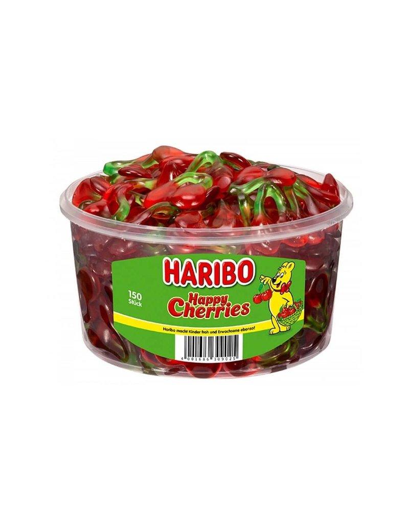 Haribo 150 stuks HARIBO Kersen - Voorraademmer voor thuis, kantoor of onderweg
