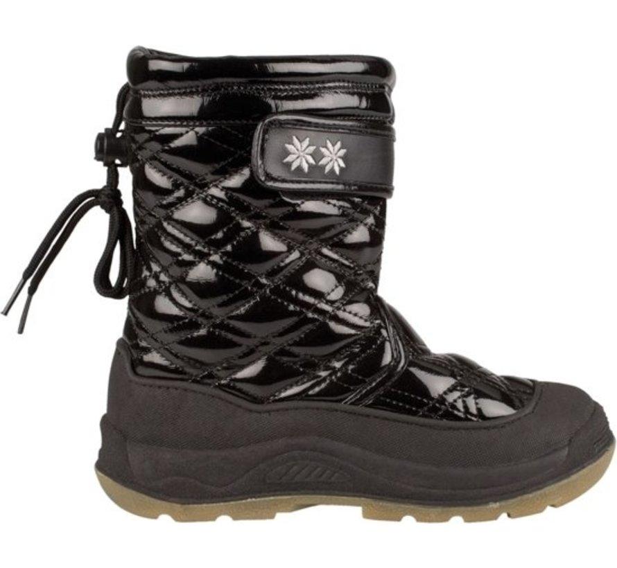 Winter-Grip Quilt - Snow Boots - Girls - Black - Size 28