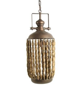 Hanglamp Misha van koper Ø29 cm - hoogte 178 cm