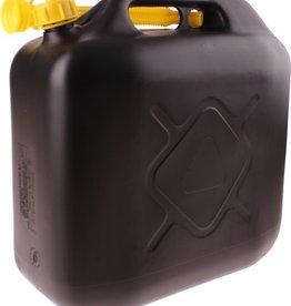 Dunlop Jerrycan 20 Liter Met Flexibele Vulslang Kunststof Zwart