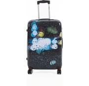Decent Swing Spinner Suitcase Raindrops | Medium 80 Liter
