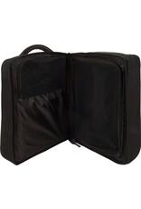 Abbey Handbagage Trolley Reiskoffer - 56 cm - Zwart