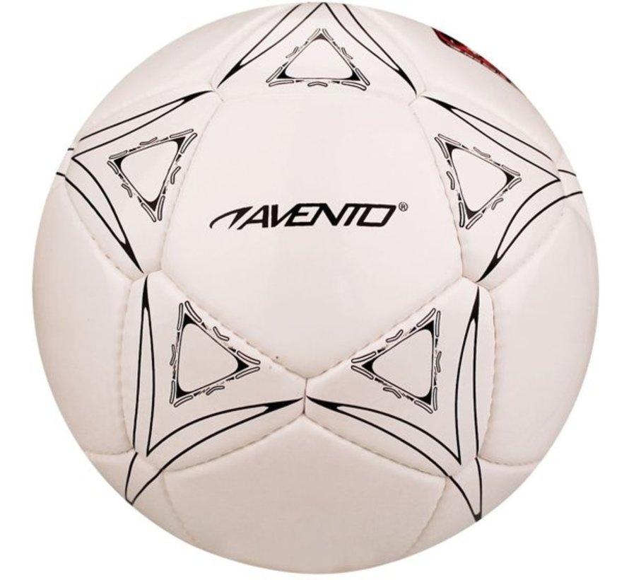 Avento Football - Blazing Star - White / Black / Red - 5