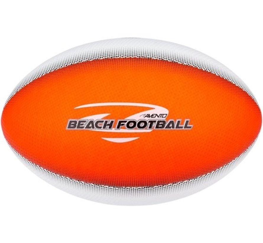 Avento Strand Football - Soft Touch - Touchdown - Fluororanje/Wit/Blauw