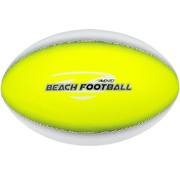 Avento Strand Football - Soft Touch - Touchdown - Fluorgeel/Wit/Grijs