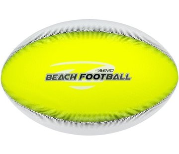 Avento Strand Football - Soft Touch - Touchdown - Fluorgeel/Wit/Grijs