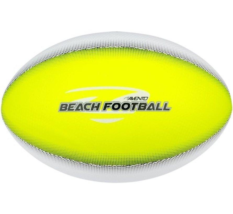 Avento Strand Fußball - Soft Touch - Landungs - Neon Gelb / Weiß / Grau