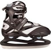 Nijdam 3382 Pro Line IJshockeyschaats - Schaatsen - Unisex - Volwassenen - Zilver - Maat 41