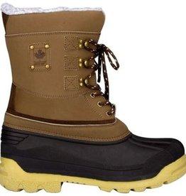 Wintergrip Canadian Snowboots - Maat 39 - Unisex - bruin/zwart