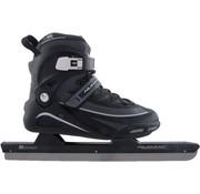 Nijdam Nijdam 3429 Norweger Skate Pro-Line - Semi Soft-Boot - Schwarz / Grau - Größe 39