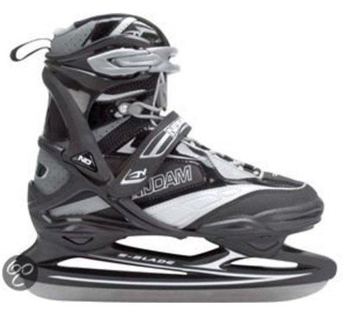 Nijdam 0108 Pro Line Ijshockeyschaats - Maat 40 - Schaatsen - Unisex