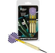 Abbey Darts Darts - Brass - Blauw/Wit - 23