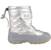 Wintergrip Grip Winter Quilt - Snow Boots - Girl - Size 28 - Silver