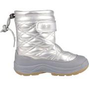 Wintergrip Quilt - Snowboots - Meisjes - Maat 28 - Zilver