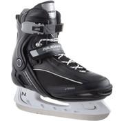 Nijdam Nijdam 3350 Ice Hockey Skates - Semi Soft Boot - Black / White - Size 42