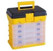 Stockbox Opbergbox 32  x  21 cm met 5 Lades En Deksel - Hoogte 32 cm