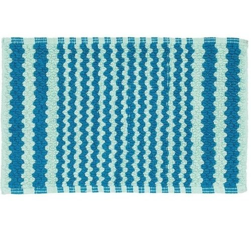 Sealskin Motif - Badmat - 50x80 cm - Aqua