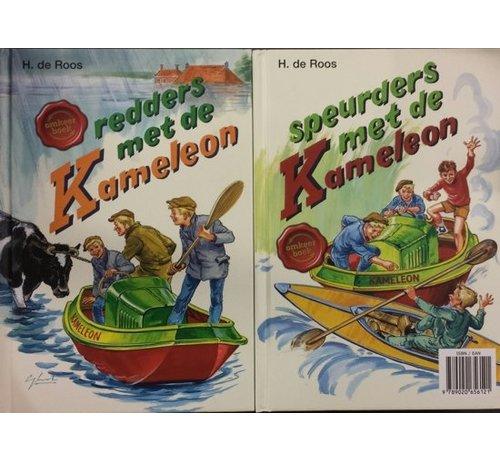 Redders met De Kameleon / Speurders met De Kameleon. Omkeerboek.