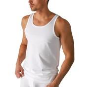 Boru Bamboo | heren hemd | maat. XXL | wit | ronde hals