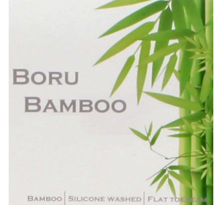 Boru Bamboo | Heren Hemd | Maat.  x  x L | Wit | Ronde Hals