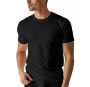 Boru Bamboe Heren T-Shirt Ronde Hals Zwart-L