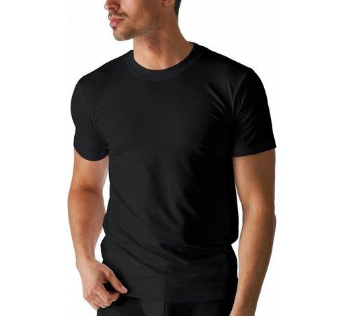 Boru Bamboe Heren T-Shirt Ronde Hals Zwart- x l