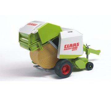 Brüder Bruder 02121 - Claas Rollant 250 Strobalenpers - Aanhanger