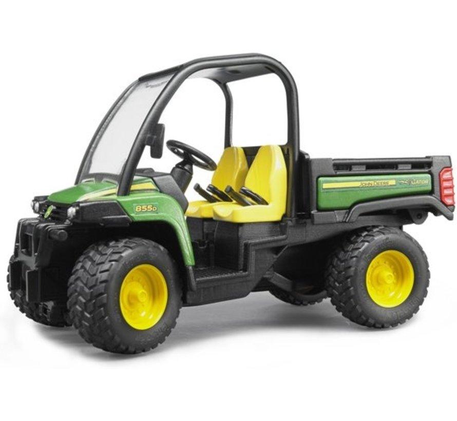 Bruder 02491 - John Deere Gator  x uv 855D Bedrijfsvoertuig - Auto