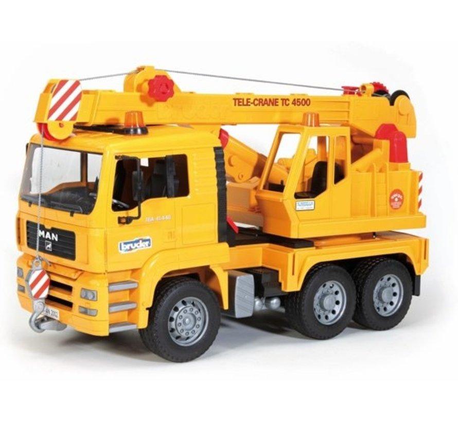 Bruder 02754 - Man Tga Kraanwagen
