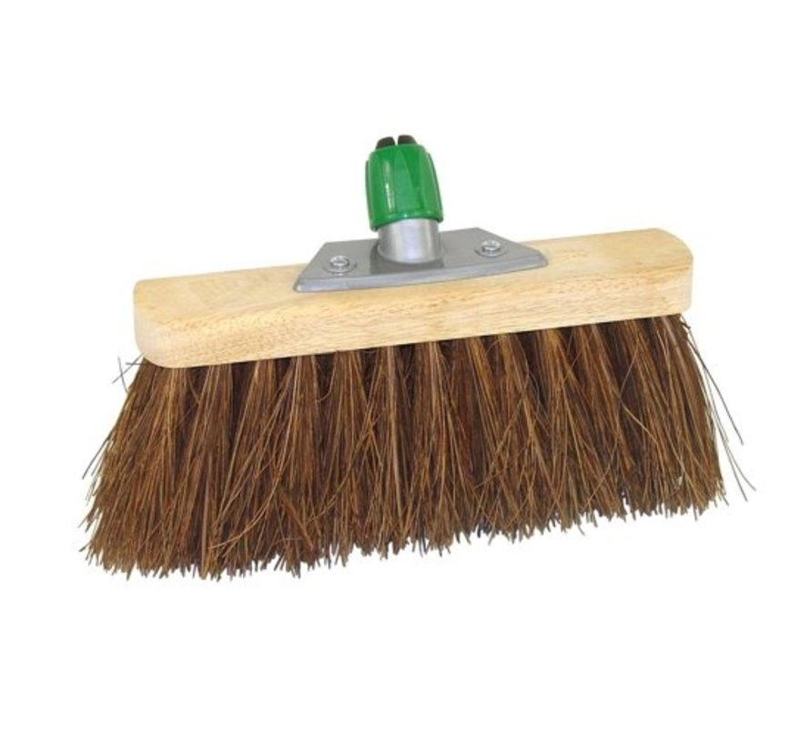 Street broom with Bassine Fiber And Steel Holder Betra